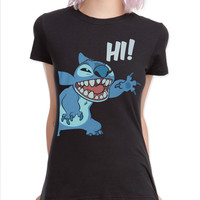 Disney Lilo Stitch Hi Girls T-Shirt