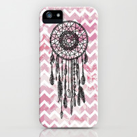 Chevron Dreamcatcher iPhone & iPod Case by Ppolecho | Society6
