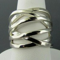 Tsavi Weave Ring In Sterling Silver - 620-136 | Wyatt Austin Jewelers