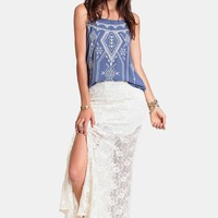 Go The Distance Maxi Skirt