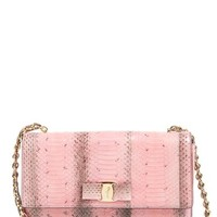 Salvatore Ferragamo 'Ginny' Genuine Snakeskin Shoulder Bag | Nordstrom