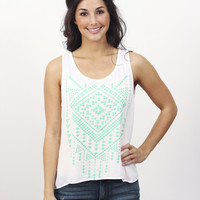 Aztec Cross Back Top » Vertage Clothing