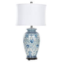 Hunt Decorative Table Lamp, Blue