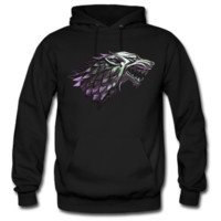 direwolf House Stark game of thrones Hoodie - TeeeShop