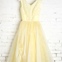 Vintage Lemon Sorbet Dress - Urban Outfitters