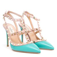 VALENTINO | Rockstud Leather Heels | Browns fashion & designer clothes & clothing