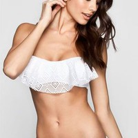 Quintsoul Addicted To You Bikini Top White  In Sizes