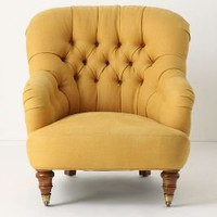 Corrigan Chair, Linen - Anthropologie.com