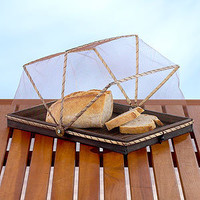 Rectangular Bamboo Dome, Espresso | Specialty | World Market