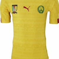 2014 World Cup Cameroon Away Soccer Jersey [20140411002] - $79.00 : 2014fifajersey!, The wholesale store of soccer jerseys., Brazil 2014 world cup soccer jerseys store.