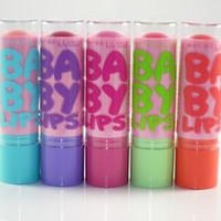 MAYBELLINE BABY LIPS PINK'ED COLLECTION SPRING 2014 LIMITED EDT SET OF 5 BALMS
