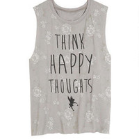 Think Happy Thoughts Tank