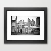 Living with the Past Framed Art Print by Daniel Fornies