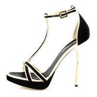 DSQUARED2 Genuine Leather Strappy Pumps- Made in Italy - 			        	Mother's Day Gifts: Jewelry & Watches