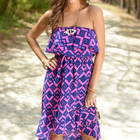 The ChaCha Dress, Purple