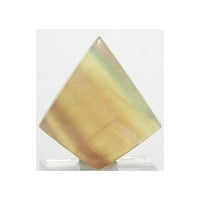 Rainbow Citrus Fluorite Yellow Purple Green Banded Fluorite Polished Stone Loose Jewel