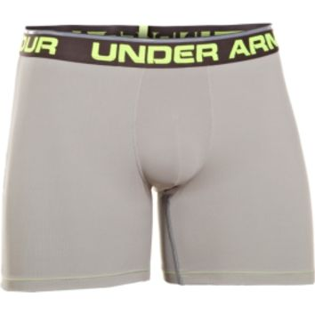 "Under Armour Men's Rib 6"" BoxerJock Boxer Brief"