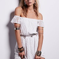 Free People Maya Off Shoulder Mini