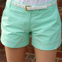 Sailing Short in Seafoam Green by Castaway Clothing