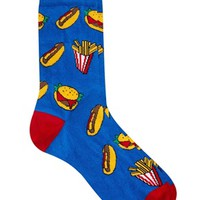 ASOS Socks With Fast Food Design