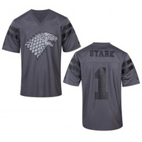 Game of Thrones Stark Football Jersey