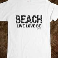 Beach Black White soTees