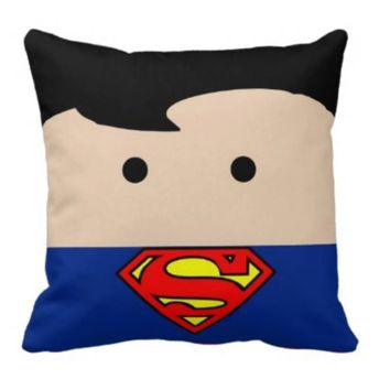 Handmade Superman Pillow