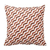 Upper Left Chevron pillow
