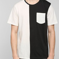 Your Neighbors Colorblock Pocket Tee