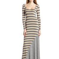 Ella moss Women's Striped Maxi Dress