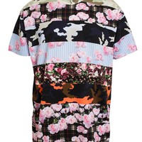 GIVENCHY | Contrasting Floral Printed Cotton T-Shirt | Browns fashion & designer clothes & clothing