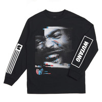 Mr Mef L/S Tee in Black