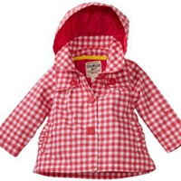 Osh Kosh Baby-girls Infant Gingham Trench Coat