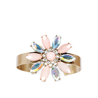 Papaya Clothing Online :: SWEET FLORAL CUFF BRACELET