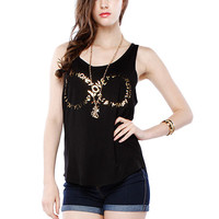 Papaya Clothing Online :: SLEEVELESS GRAPHIC TOP