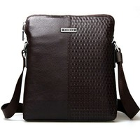 Men's Messenger Leather Men Shoulder Bag by martEnvy