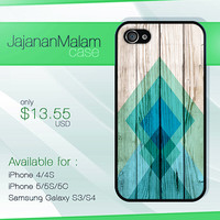 chevron mint on wood case, wood iphone case, iphone 4 case iphone 5c case, samsung gaxaly S3 case, samsung gaxaly S4 case