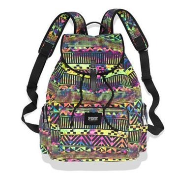 Victoria's Secret Pink Backpack Aztec