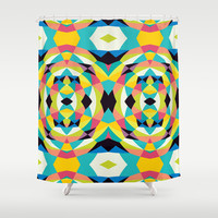 Mix #565 Shower Curtain by Ornaart