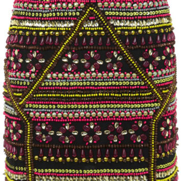 Embellished Neo Geo Skirt