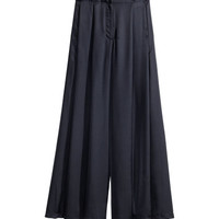 H&M Wide-leg Satin Pants $49.95