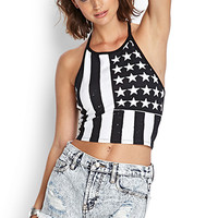 Stars & Stripes Halter Top