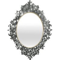 Lisa Argyropoulos Steely Grays Baroque Mirror