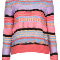PASTEL STRIPE JUMPER