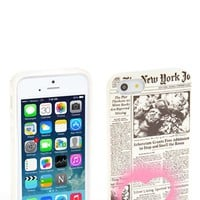 kate spade new york 'newspaper iPhone 5 & 5s case | Nordstrom