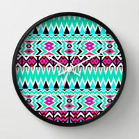Mix #567 Wall Clock by Ornaart