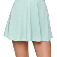 Sunbleached Abbey Jersey Knit Skater Skirt at PacSun.com