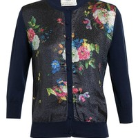 ERDEM | Floral Lurex Cardigan | Browns fashion & designer clothes & clothing