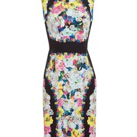 ERDEM | Sherine Floral Printed Silk Dress | Browns fashion & designer clothes & clothing