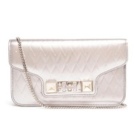 PROENZA SCHOULER | PS11 Metallic Leather Clutch | Browns fashion & designer clothes & clothing